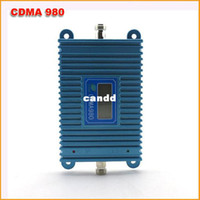 Wholesale LCD Display CDMA High Gain Mhz Mobile Phone Signal CDMA Booster Repeater Amplifier Coverage square