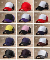Wholesale Men Hats Trucker Hat Fashion Trucker Cap Mesh Cap Baseball Hats Ladies Sun Hat Ball Cap MYY6694