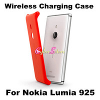 Wholesale NOKIA CC Wireless Charger Charging Shell Case Cover For Nokia Lumia
