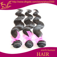 Wholesale DHL Queen Hair Products Brazilian Virgin Hair Extension Body Wave Mixed inch A Human Hair Weave BH405