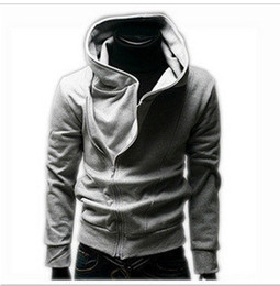 Wholesale 2013 men s spring and autumn clothing slim black cardigan casual male cable stayed with a hood sweatshirt hoodie