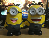 Wholesale 8 quot Despicable Me Minions piggy bank saving money box coin bank money bank Coin Box retail