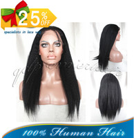 Wholesale Beautiful Kinky Straight Brazilian Virgin Remy Human Hair Lace Front Wig For Black Ladies