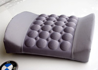 Wholesale Ergonomics auto back waist massage cushion vibration massager DC12v vibration strength adjustable