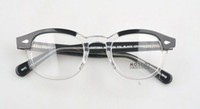 drop ship glasses frame sz: L M S. Black and white color in o...