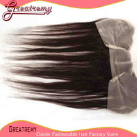 100% Peruvian Unprocessed Virgin Hair Lace Frontal Hairpiece...