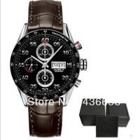 Wholesale Luxury Mens Mechanical GMT Caliber Watch Calendar Men Date Watches CAV5185 Original Box Wristwatches Papers