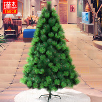 pine tree - 150cm meters two color pine christmas tree pine needle tree christmas tree