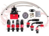 Wholesale Cheaper shipping cost Universal Rubber hose and gauge Aeromotive Fuel Pressure Regulator Oil Cooler Kit