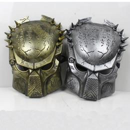 Wholesale Costume Ball Aliens vs Predator AVPR Mask Masquerade Party Halloween Dance Birthday