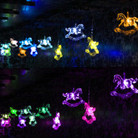Wholesale LED Christmas lights string new Golden Horse Lighting supplies decorative Christmas holiday party