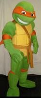 Wholesale Teenage Mutant Ninja Turtles Mascot Costume Tortoise Adult Character Fancy Dress Suit