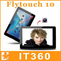 Wholesale 10 Flytouch GB Dual Core Android GPS Superpad Cortex A5 Webcam HDMI Tablet PC