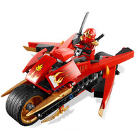 Wholesale 1 set Ninja Phantom Ninja mini figures generations Kay wheel motorcycle building block sets eductional kids toys