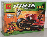 Wholesale 15 set Ninja Phantom Ninja generations Kay wheel motorcycle building block eductional kids toys