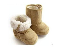 Wholesale Baby Toddler Shoe anti skid shoes girls boots baby cotton shoes ZJH64H