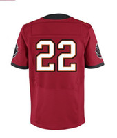 Men Short Polyester 2013 Elite Jersey #22 Red Color Martin Jersey American Football Jerseys Sport Jerseys