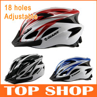 Wholesale GIANT bicycle helmet mountain bike one piece colors holes adjustable Cycling helmet hat riding equipment helmet30