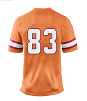 Men Short Polyester 2013 Elite Jersey #83 yellow Color Jackson Jersey American Football Jerseys Sport Jerseys