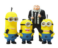Wholesale Despicable Me D Eye Minions Gru Piggy Bank Money Bank Coin Bag retail