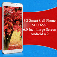 Wholesale Cheap N9200 MTK6589 Android ROM GB G Smart Cell Phone Inch Large display HD screen Wifi GPS N9000 Note3 Note