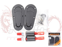 Wholesale Cheaper shipping cost D1 Generation Aerocatch Bonnet Pins Plus Flush Kit Hood Pin Plastic Without Lock