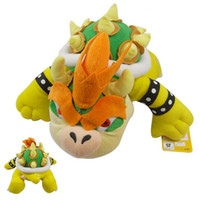 Unisex big brother movie - 13 cm Super Mario plush toys Big Size Koopa Bowser dragon plush doll Brothers Bowser soft