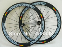 Road Bikes Carbon 12 Inch MAVIC Cosmic 50mm clincher tubular bicycle wheels freewheel complete Carbon fiber road bike wheels racing cycling wheelset