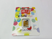 Wholesale 100 original R SIM Air unlock for iPhone S