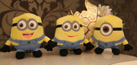 Unisex talking toy - 3D Talking Despicable ME Movie seconds recording Soft Stuffed Toy Minion Doll