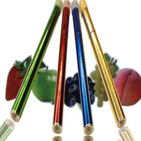 Wholesale Fruit taste new disposable electronic cigarettes POCKET SHISHA double lamp e cigarettes color flavors with the box
