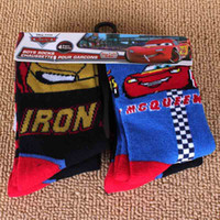 Wholesale Kids Cartoon Socks Lighting Mcqueen Jake and the neverlands Etc Children Sockings