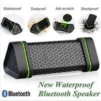 Wholesale Portable Wireless Bluetooth Speakers A2DP W Stereo Outdoor Speaker Waterproof Dustproof Anti scratch Shockproof Drop Shipping New S109