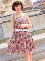 Wholesale New hot sell Maternity dress female oversize dot suspender skirt pregnant women s outside basic skirt Cute floral stylish D1319