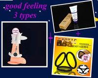 Halloween   Free Shipping 3types! Proextender +enlargement oi+3Cock rings,pro extender system,Cockman proextendesr,male sexy toy penis enlarger Penis