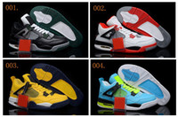 Wholesale 55 Colours Hot Sale Retro IV Men s Basketball Sport Footwear Sneaker Trainers Shoes Colours