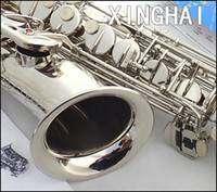 Wholesale Xinghai tenor saxophone e saxe f key nickel silver carved