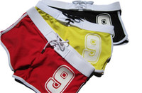 Men Shorts Patchwork Superbody New Fashion 9 Number Mens Sexy Swimwear Swimming Trunks Boxers Briefs Short Rope Beachwear Swim Suits Slim Fit Swim Wear M~XXL
