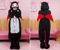 Unisex animal skeleton games - NEW Anime Kigurumi Pajamas Cosplay Costume unisex Onesie Dress skeleton devil S M L XL