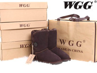 Wholesale Hot Sale High Quality Classic WGG Brand Women popular Australia Genuine Leather Boots Fashion Women s Snow Boots US5