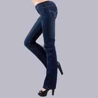 Wholesale New Women fashion ladies jeans and comfortable during the spring and autumn leisure jeans