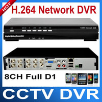 Wholesale 8CH Full D1 CCTV Hybrid DVR Support G Wifi Multi Browser Mobile monitor Network Security DVR For CCTV System