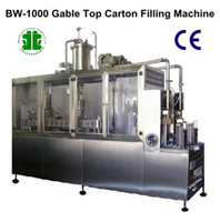 Wholesale Semi Auto Gable Top Beverage Filling Machine BW