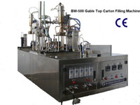 beverage filling machinery - Small Type Manual Beverage Gable Top Filling Machinery BW
