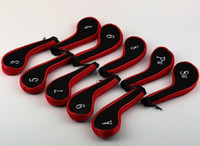 Wholesale High quality set Golf Club Iron Putter Head Cover HeadCovers Protect cover Set