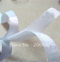 Wholesale 20mm width meters pair set self adhesive velcro strap velcro tape with glue applicable to curtains or others