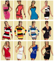 Wholesale Hot Sale Sexy Dress Mix Styles Clubwear Ladies Party Dress Fashion Dresses With G string High Quality