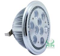 9W No LED AR111 9W led spot light G53 990lm =50W halogen lamp 85-265V or 12V