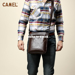 Wholesale Camel Camel Pijuxiangbao first layer of leather multifunction shoulder bag man bag Messenger bag MB157004