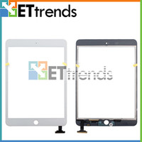 Wholesale for iPad Mini Black White Touch Screen Digitizer Replacement Repair Parts Low Price Touch Panel AA0125